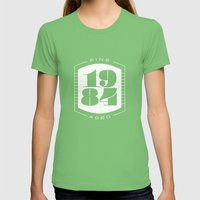 Fine Aged 1984 - Light Womens Fitted Tee Grass SMALL