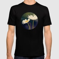 Two Daisies Mens Fitted Tee Black SMALL