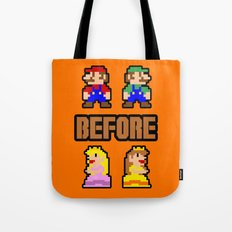 Super Mario Bros Before Hoes Tote Bag