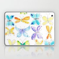 Breezy Butterflies Laptop & iPad Skin
