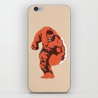 Thunderbolt Ross iPhone & iPod Skin