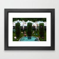 The Living Garden Framed Art Print
