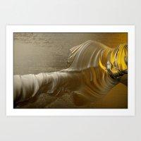 Molten Gold II Art Print