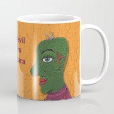The Devil Wears Mascara Mug