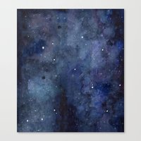 Night Sky Stars Galaxy |… Canvas Print