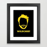 Wildcard! Framed Art Print