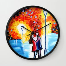 Under The Lantern Wall Clock