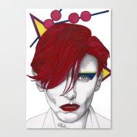 Ziggy Girl Canvas Print