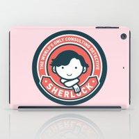 Sherlock - Cute Sherlock Holmes in Red iPad Case