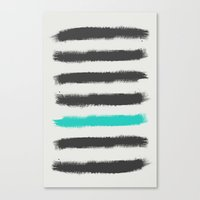 Paint Strokes  Canvas Print