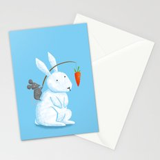 Bunny Rider Stationery Cards