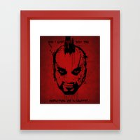 Far Cry 3 - The Definition of Insanity Framed Art Print