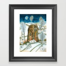 Winter Warmth Framed Art Print