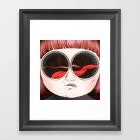 Tongues Dream Framed Art Print