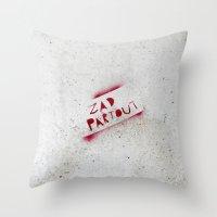 ZAD Partout Throw Pillow