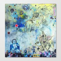 The Small World Experiment Canvas Print