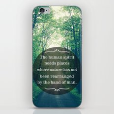 Places in Nature iPhone & iPod Skin