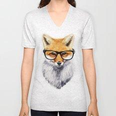Mr. Fox Unisex V-Neck