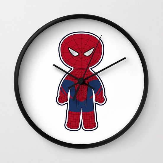 Chibi Spider-man Wall Clock