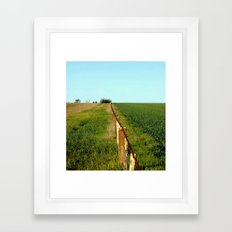 In the Distance Framed Art Print