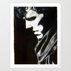 Sorrow Waited, Sorrow Won Art Print