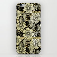 Floral Ink iPhone & iPod Skin