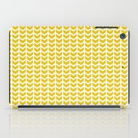 Mustard Chevron iPad Case