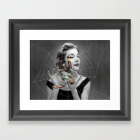 They Eat Their Mates Aft… Framed Art Print