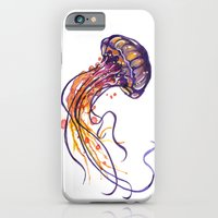 iPhone & iPod Case featuring Jellyfish by Sam Nagel