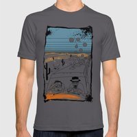 Fear And Loathing In Alb… Mens Fitted Tee Asphalt SMALL