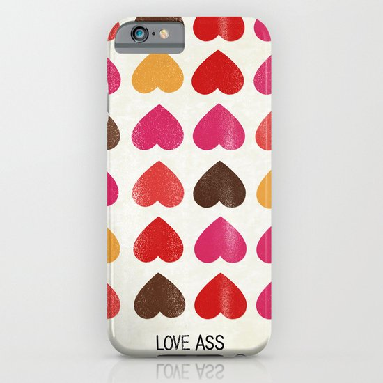 LOVE ASS iPhone & iPod Case