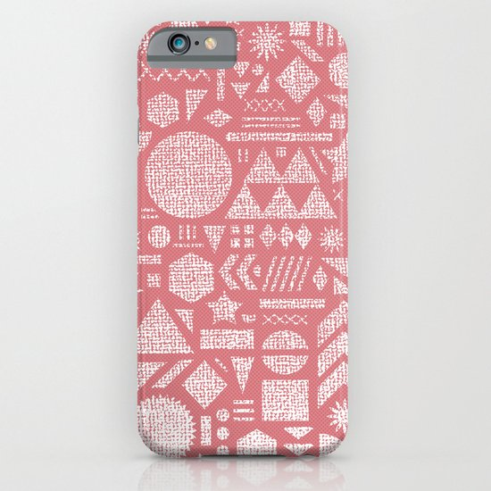Modern Elements with Bubble Gum. iPhone & iPod Case