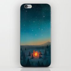 Campfire iPhone & iPod Skin