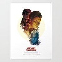 BLADE RUNNER Poster Art Print
