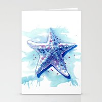 Starfish Waters I Stationery Cards