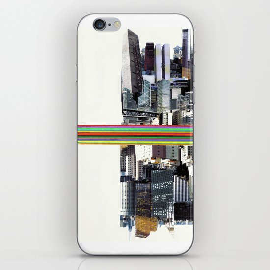 The Invisible Cities (dedicated to Italo Calvino) iPhone & iPod Skin