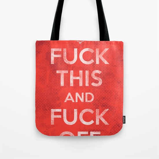 Public Service Announcement Tote Bag
