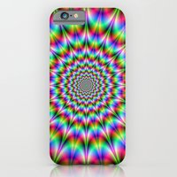 iPhone & iPod Case featuring Psychedelic Explosion by Objowl