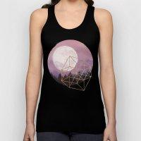 moon Unisex Tank Top