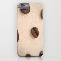 Coffee And Sugar iPhone 6 Slim Case