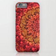 Ruby & Garnet Doodle iPhone 6 Slim Case
