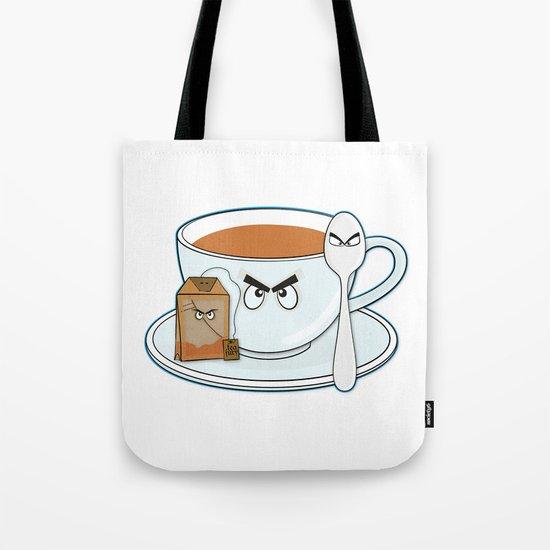 Tea fury Tote Bag