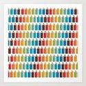 Colors #1 Art Print