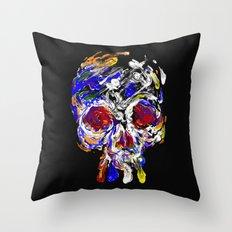 Skully Mix Throw Pillow