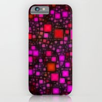 iPhone & iPod Case featuring Post It Pink Glow by Alice Gosling