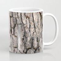 Camouflage Tree Bark Mug