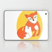Fox Family Laptop & iPad Skin