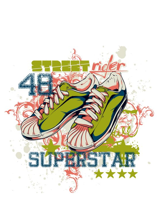Superstars Art Print