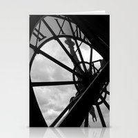 Horloge D'Orsay Stationery Cards