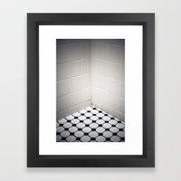 Dirty Shower Framed Art Print